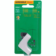 Wiremold C57 White Cordmate 2 Inside Elbow
