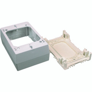 Wiremold NM2 Ivory Switch / Outlet Box