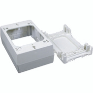Wiremold NM35 Plastic Extra Deep Outlet Box