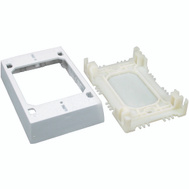 Wiremold NMW2 1 Inch White Starter/Outlet Box
