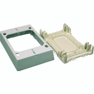 Wiremold NMW35 1 3/4 Inch White Xdeep Outlet Box