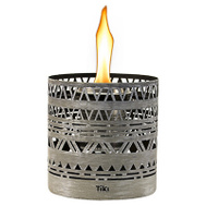 Lamplight Farms 1118049 Torch Lantern Table Gry 5In
