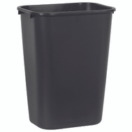 Rubbermaid Commercial FG295700BLA Wastebasket 41Qt Large Black