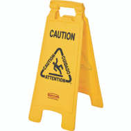 Rubbermaid Commercial 6112-00 2 Sided Caution Floor Sign