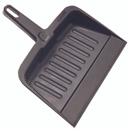 Rubbermaid Commercial FG200500CHAR Charcoal Heavy Duty Dustpan