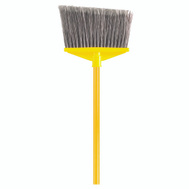 Rubbermaid Commercial FG637500GRAY Angle Broom Flagd W/Handle