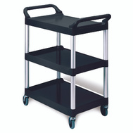 Rubbermaid Commercial FG342488BLA Utility Cart 20X40in Black