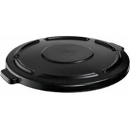 Rubbermaid Commercial FG264560BLA Brute 24 12 By 1 1/2 Gray Plastic Refuse Lid