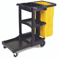 Rubbermaid Commercial FG617388BLA Janitor Cart 2000