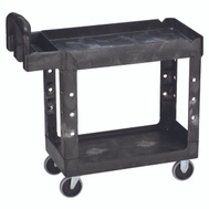 Rubbermaid Commercial FG450027BLA Cart Utility Small Hduty Black