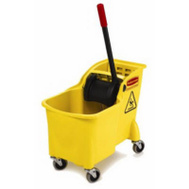 Rubbermaid Commercial 1887304 Bucket Tandem 31-Quart Yellow