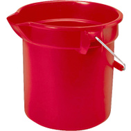 Rubbermaid Commercial FG296300RED Brute 10 Quart Round Bucket