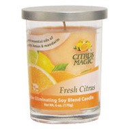 Beaumont Products 611072786-6PK Candle Odr/Elm Fresh Citrs 6 Ounce
