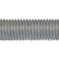 Brighton Best 770053-BR 1/2 13 By 6 Hot Dipped Galvanized All Threaded Rod