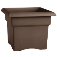 Bloem 57314CH Planter Chocolate 14in
