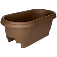 Bloem 477245-1001 Planter 24In Deck Rail Choc