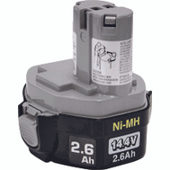 Makita 193158-3 14.4 Volt 2.6 Ah Nickel Metal Hydride Battery