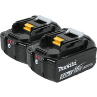 Makita BL1850B-2 Battery 50Ah Lithium-Ion 18V 2 Pack