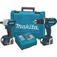 Makita XT261M 18-Volt Lxt Lithium-Ion Cordless 2-Piece Combo Kit
