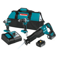 Makita XT328M Kit Combo Brshls 18V 3-Pc