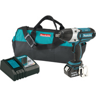 Makita XWT041X Wrench Drv Imp Kit 18V 1/2Insq