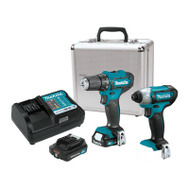 Makita CT232RX Kit Combo Crdlss 2-Pc 12V