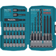 Makita T-01373 38 Piece Impact Drill Driver Bit Set