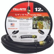 Tuthill FRH07512 Fill Rite Fuel Hose 12 Foot By 3/4 Inch