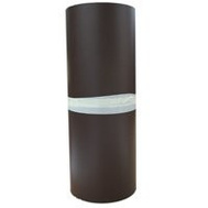 Billy Penn 6653 White And Brown Aluminum Handy Roll 14 Inch By 10 Foot