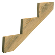 Universal Forest 279712 Stair Stringer 3-Step 39In