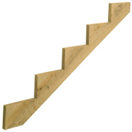 Universal Forest 279714 Stair Stringer 5-Step 59.5In