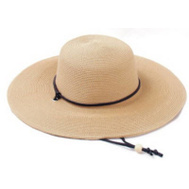 Principle Plastics 442LB01 Light Brown Wide Brim Hat