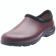 Principle Plastics 5301BN10 Sloggers Shoe Men Waterproof Brown Sz10
