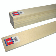 Midwest Products 4306 Basswood Sheet 1/4 X 3 X 24In