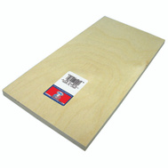 Midwest Products 5334 Plywood Craft 1/2 X 6X12in 3Pk