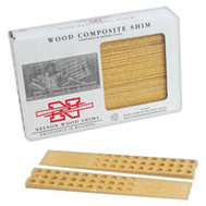 Nelson Wood Shims WC8/32/15/50 Wood Composite Shims