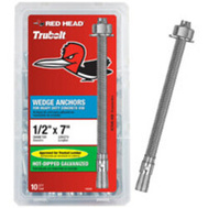 ITW Red Head 12029 Anchor Wedge Hdg 1/2X7in 10Pk (Box Of 10)