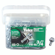 ITW Teks 21322 Screw Drill Pt Hwh No10x3/4In 450 Pack