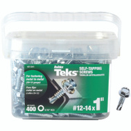 ITW Teks 21341 Screw Drill Pt Hwh No12 X 1In 400 Pack