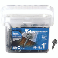 Teks 21401 Screw Roof S-Point Hwh No9x1in 360 Pack