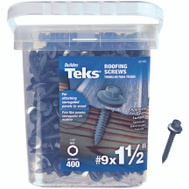 Teks 21406 Screw Roofing Hwh No9 X1-1/2In 300 Pack