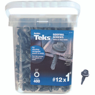 Teks 21418 Screw Roofing Hwh No12 X 1In 400 Pack