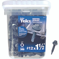 Teks 21422 Screw Roofing Hwh No12x1-1/2In 300 Pack