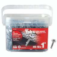 ITW Teks 21530 Screw Lath Drill Pt No8 X 1In 510 Pack
