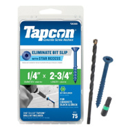 ITW Tapcon 24385 Screws 1/4 By 2 3/4 Phillips