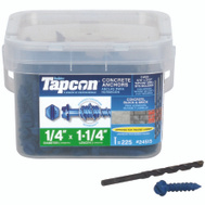 ITW Tapcon 24515 Anchor Cncrt Hwh 1/4 X 1-1/4In 225 Pack