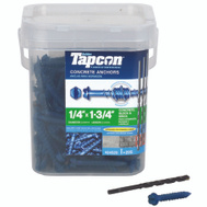 ITW Tapcon 24520 Anchor Cncrt Hwh 1/4 X 1-3/4In 225 Pack