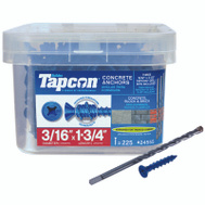 ITW Tapcon 24555 Anchor Cncrt Pfh 3/16 X1-3/4In 225 Pack