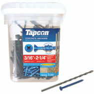 ITW Tapcon 24560 Anchor Cncrt Pfh 3/16 X2-1/4In 225 Pack
