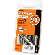 EZ Anchor 25220 Toggle Lock 2 1/8 Inch Self Drilling Drywall Anchor Pack Of 10